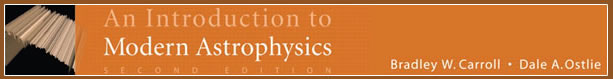 Introduction to Modern Astrophysics Website, 2/e